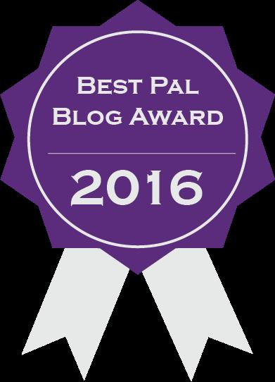 BEST PAL BLOG AWARD 2016