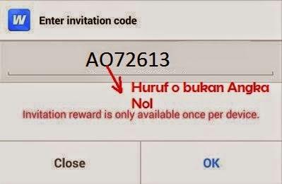 Invite kode Whaff Rewards