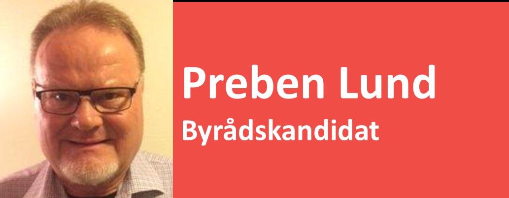 Preben Lund Byrådskandidat