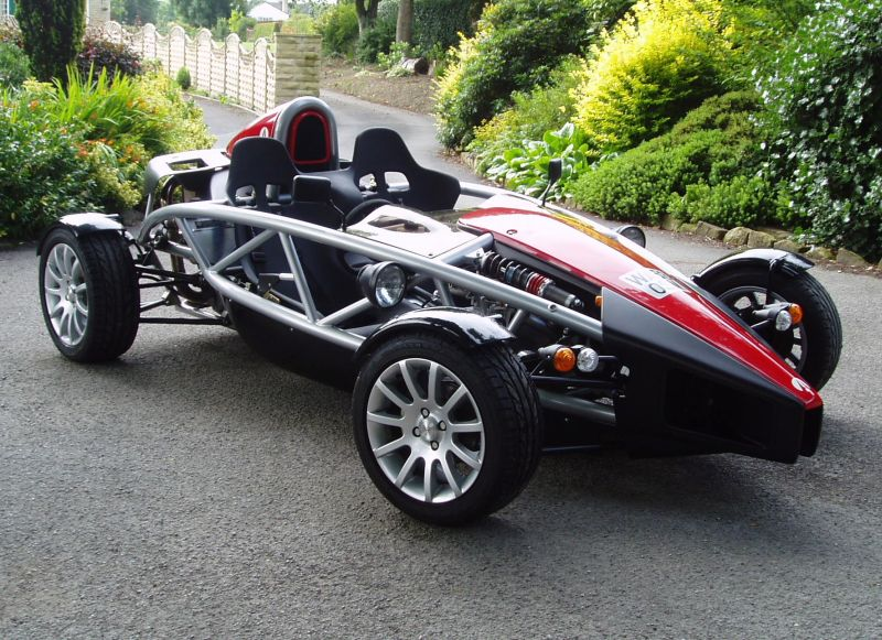 ariel atom v8 supercharged racing car photo. Black Bedroom Furniture Sets. Home Design Ideas