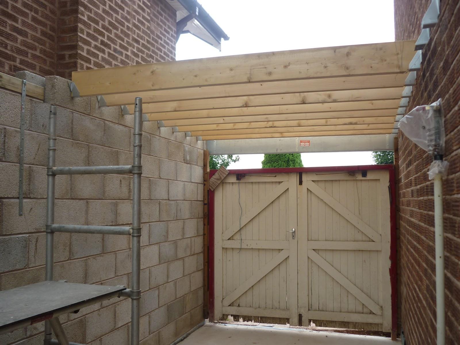 Как и из чего сделать плоскую крышу у гаража