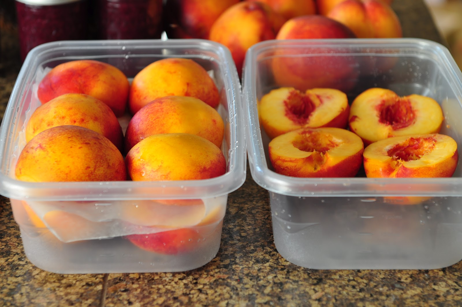 Как заморозить персики в морозилке рецепт