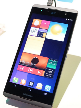 Hisense MAXE X1 6.8-Inch Android Smartphone