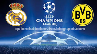 Liga de Campeones 2013 - Vuelta Real Madrid Dortmund 30 de Abril