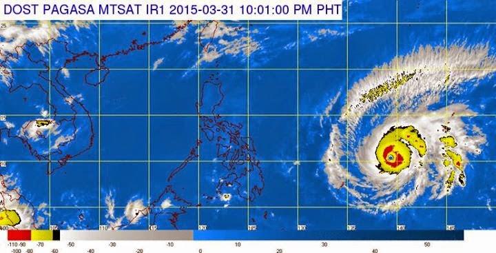 Typhoon Chedeng update, Typhoon Maysak update