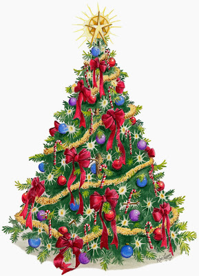 Kumpulan Gambar Pohon Natal Cantik dan Indah