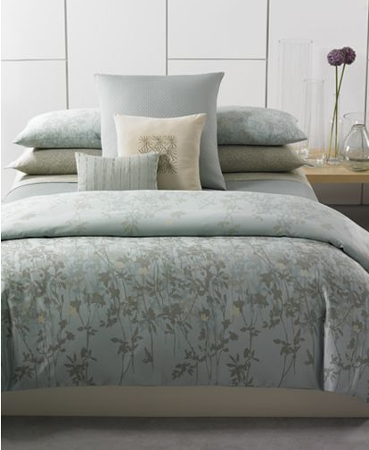 Cool, Casual And Contemporary, Calvin Kleinu0027s Marin Bedding Updates Your  Room With A Look Of Natural Sophistication. Shadowy Layers Of Field Flowers  In Hues ...