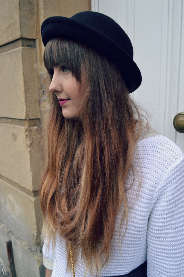 damart jumper ombre long messy hair
