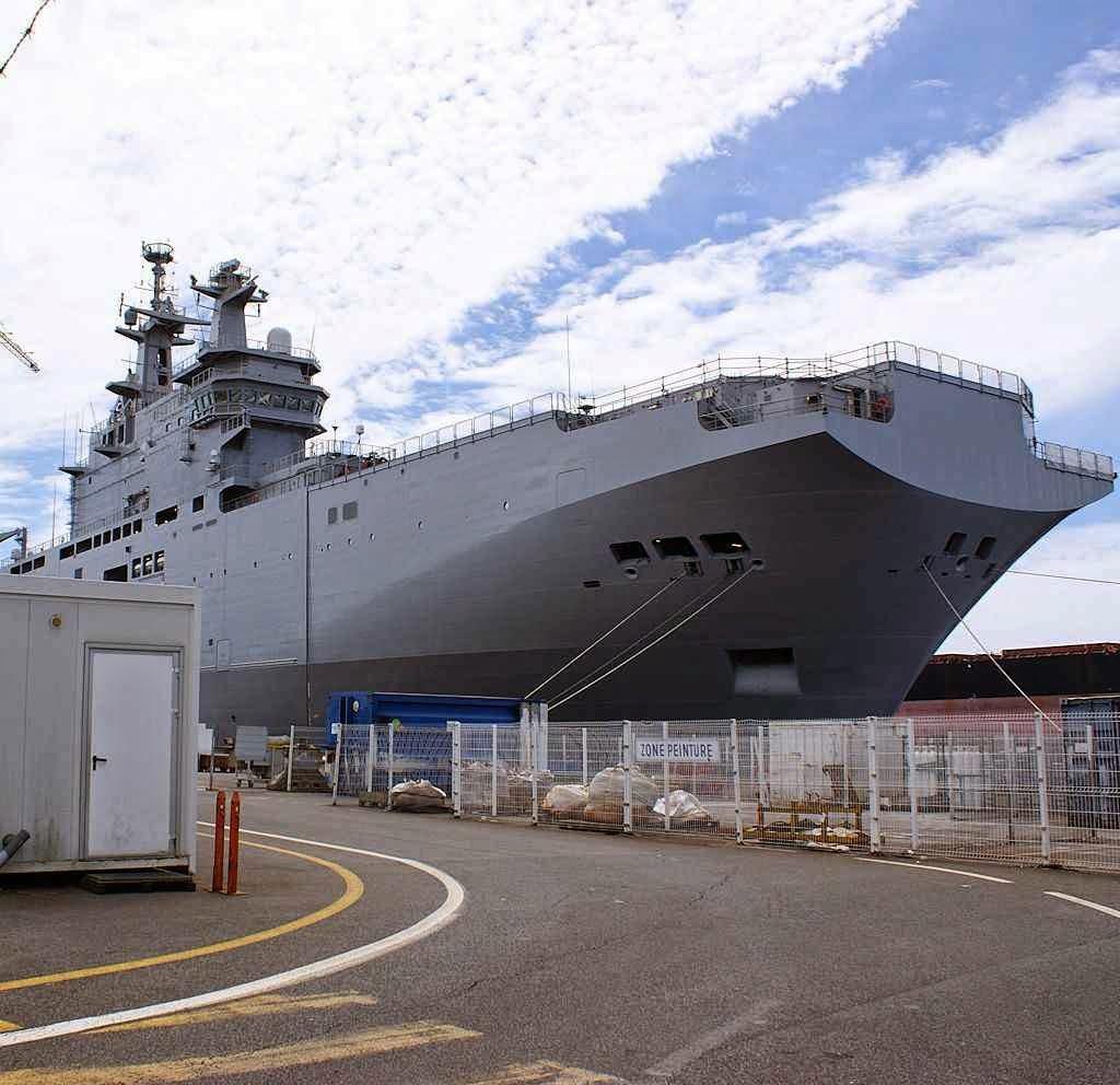 O 'Vladivostok' amanhã poderá ser apontado contra a França e contra o Ocidente.