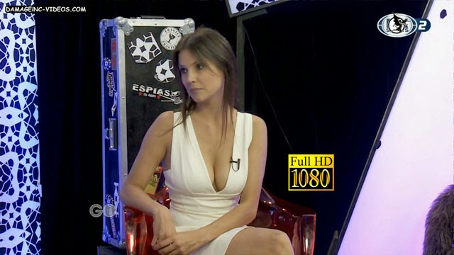 Argentina celebrity Ursula Vargues busty cleavage full HD damageinc-videos