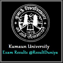 Kumaun University MA M.Sc M.Com 1st 2nd 3rd Year Private Result 2015