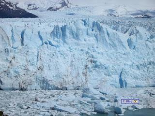 Glaciar Perito Moreno - Muralla: el glaciar de frente