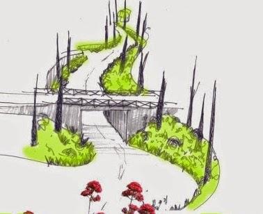 Boulevard de b signoles vers un boulevard jardin petite - Cypres de florence totem ...