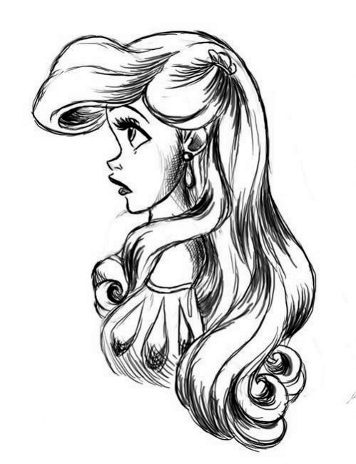 Ariel Drawings Tumblr