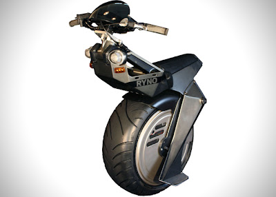 Ryno Micro-Cycle The One wheeled motorcycle