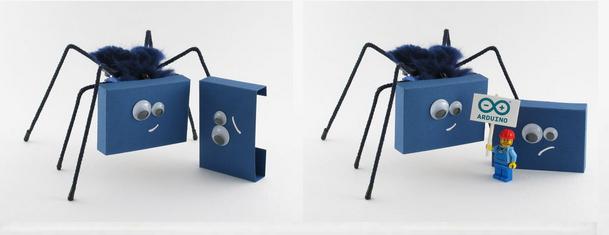Membuat Robot Berkaki Dengan Arduino Uno