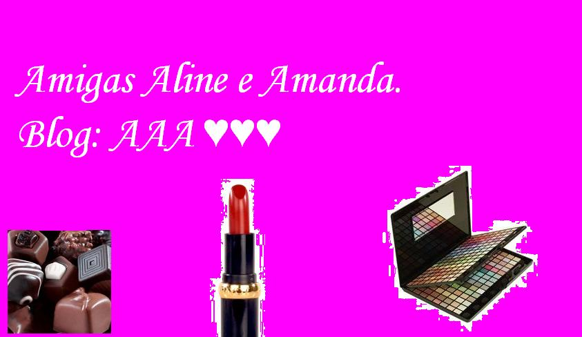 ♥ ♥ ♥Amigas Aline e Amanda♥ ♥ ♥