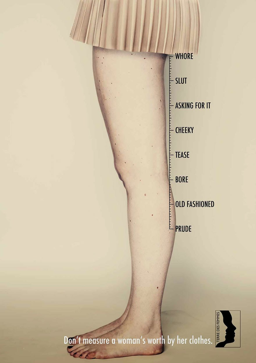Don't Measure A Woman's Worth By Her Clothes!