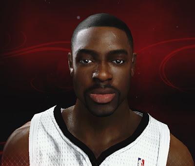 NBA 2K13 Tyreke Evans Cyberface Patch