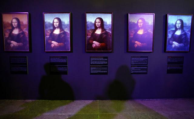 caras de la Mona Lisa