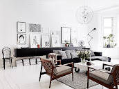 #12 Black & White Livingroom Design Ideas