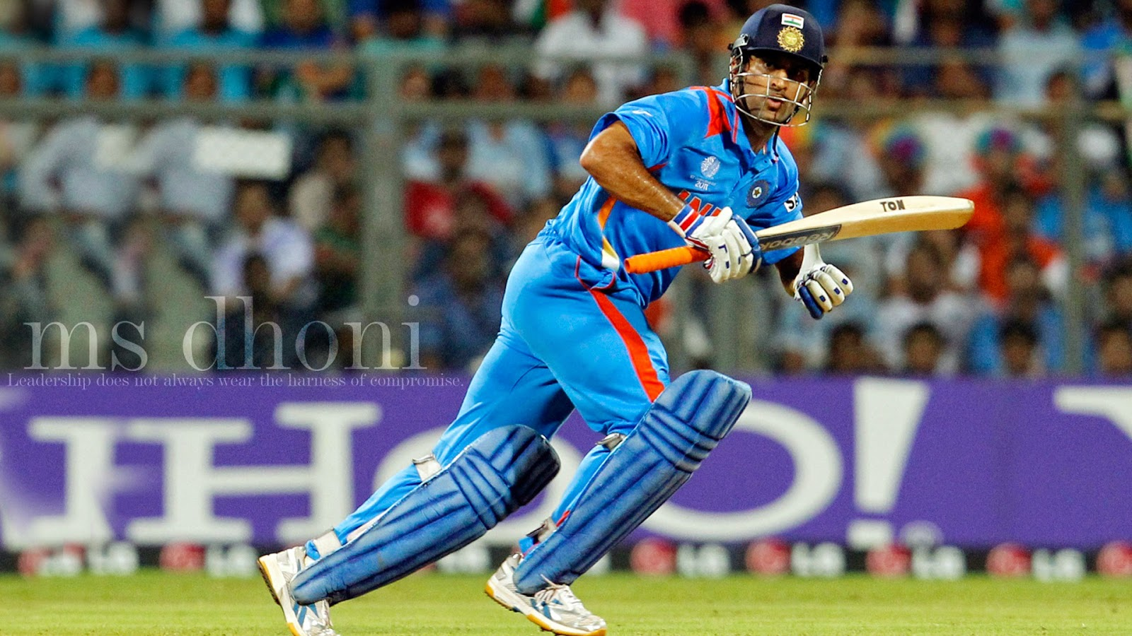 dhoni picture run on pitch