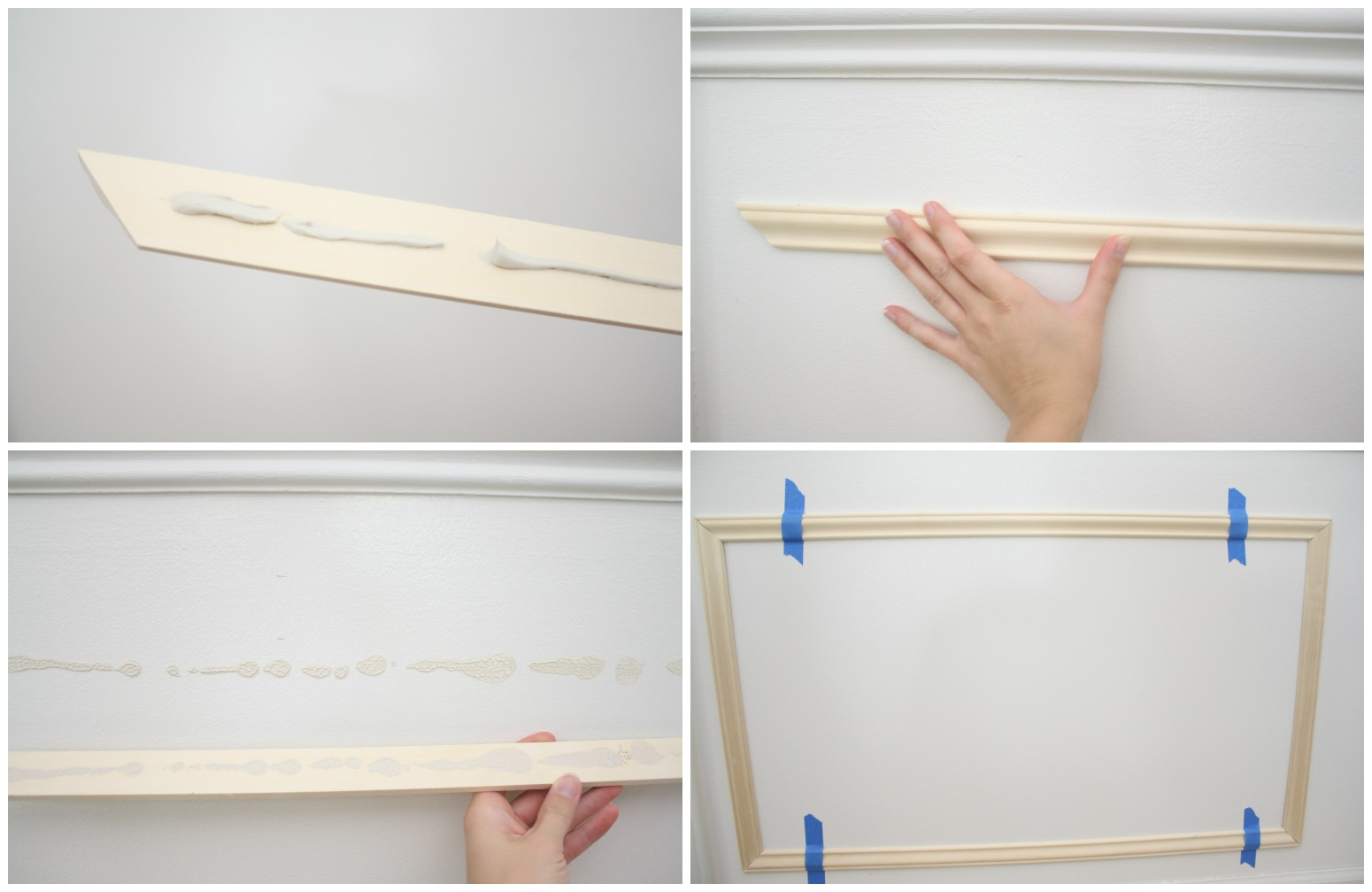 Picture Frame Moulding Tutorial Crazy Wonderful How To Wire A Ceiling Rose In Simple Steps Craftomaniac
