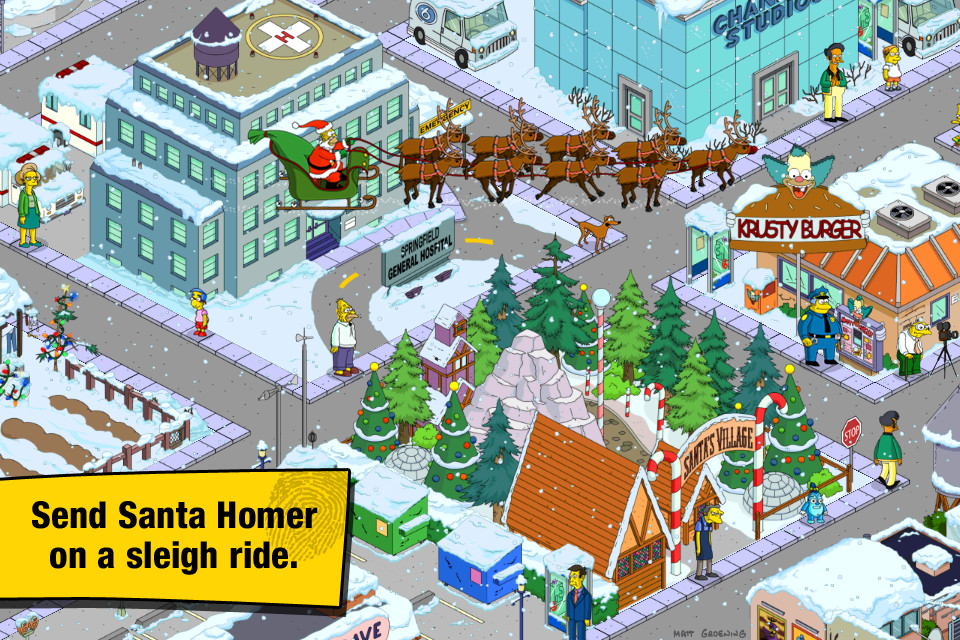 screenshot 5 The Simpsons Tapped Out
