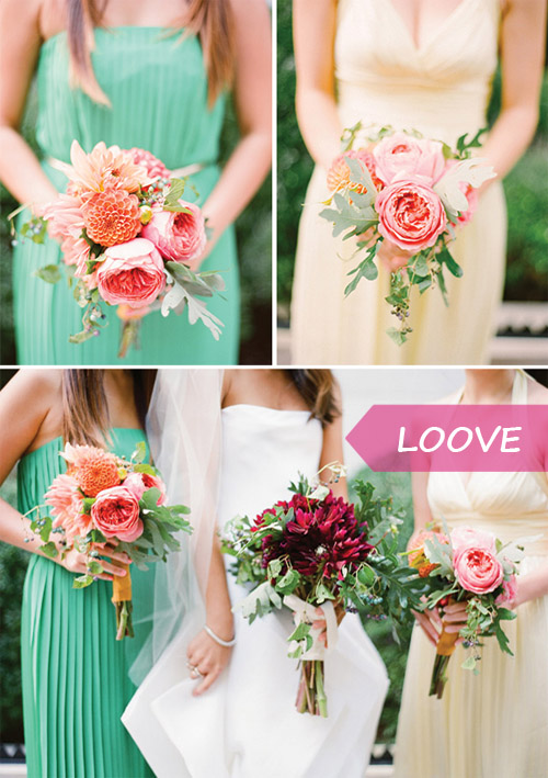 wedding flower bouquet inspiration
