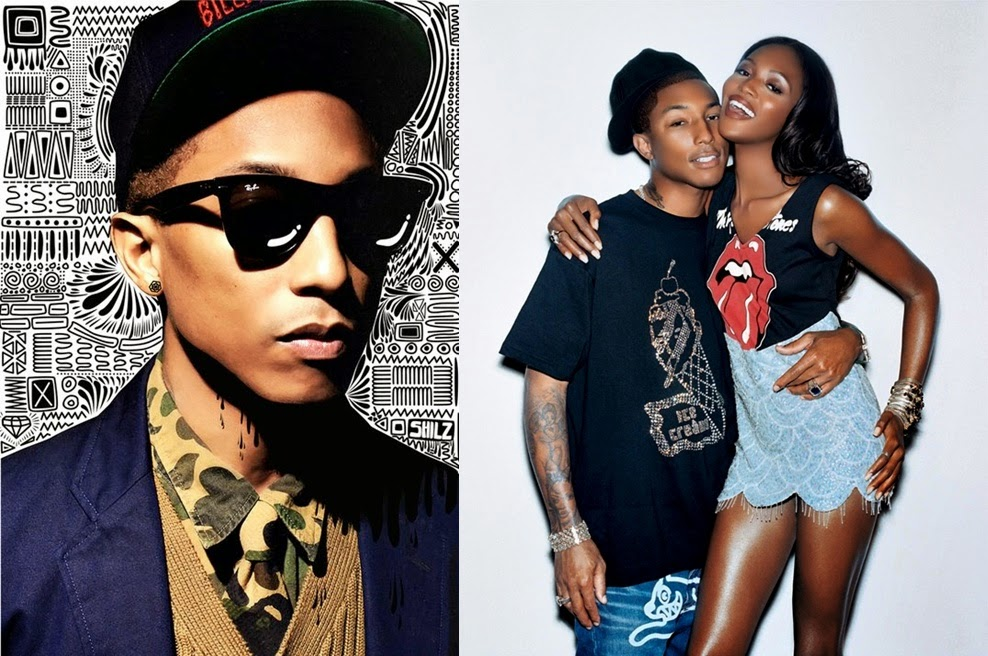 Pharrell Williams Never Ages