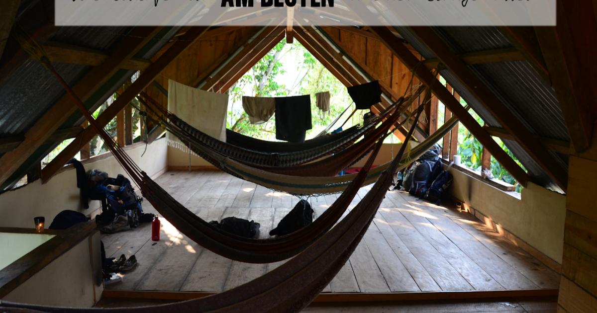 reisezauber wie schlafe ich am besten in einer h ngematte. Black Bedroom Furniture Sets. Home Design Ideas