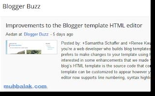 Edit HTML blogger baru dan cara menggunakannya