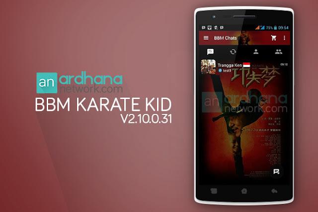 BBM Karate Kid V2.10.0.31