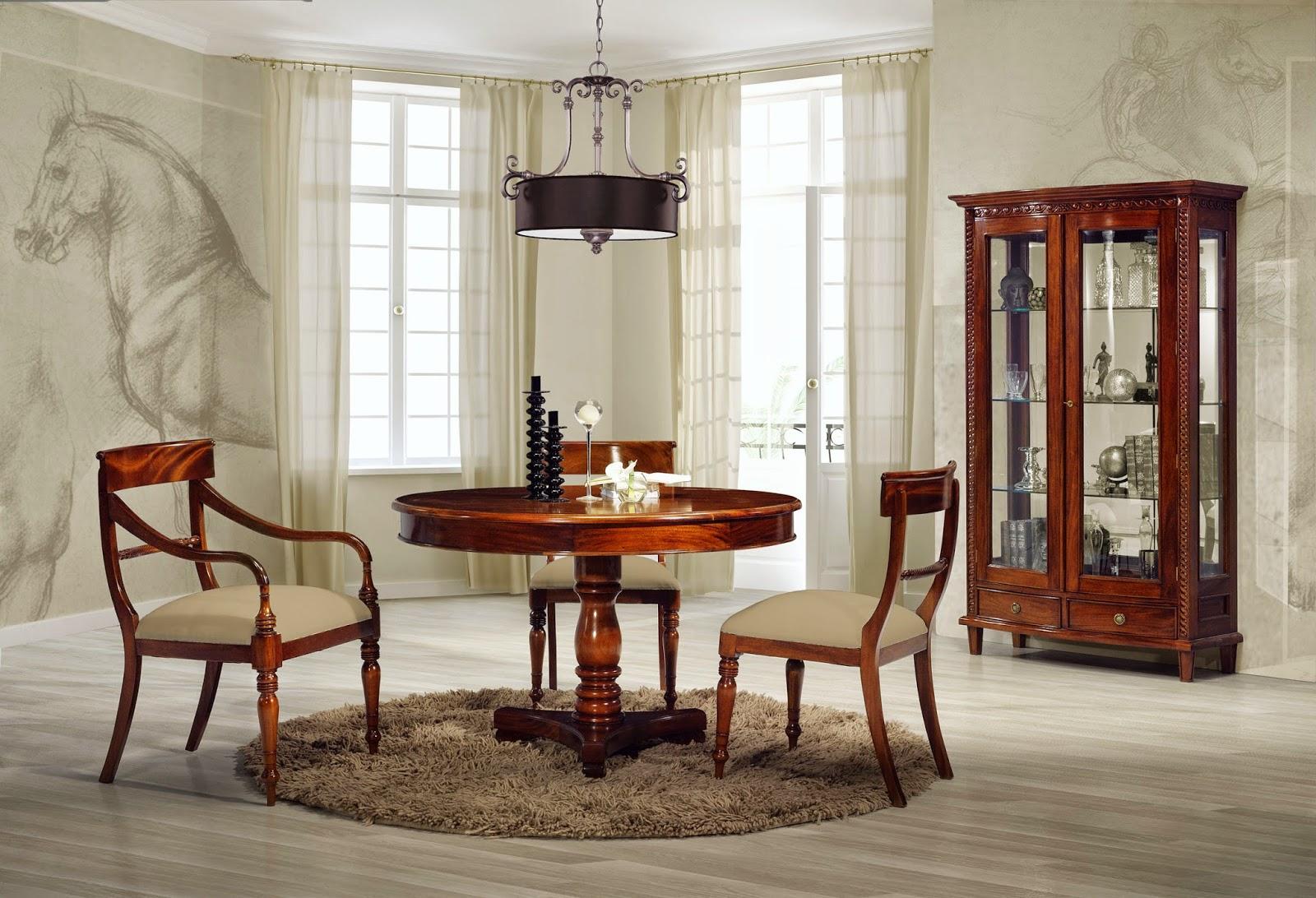 Mesas de comedor 10 mesas de comedor redondas maravillosas - Mesas redondas comedor ...