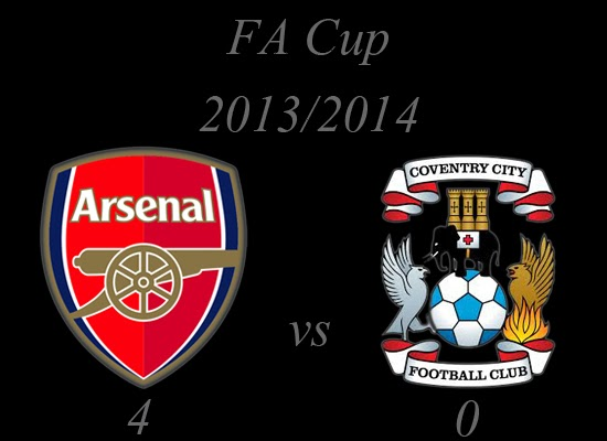 Arsenal vs Coventry City FA Cup 2013