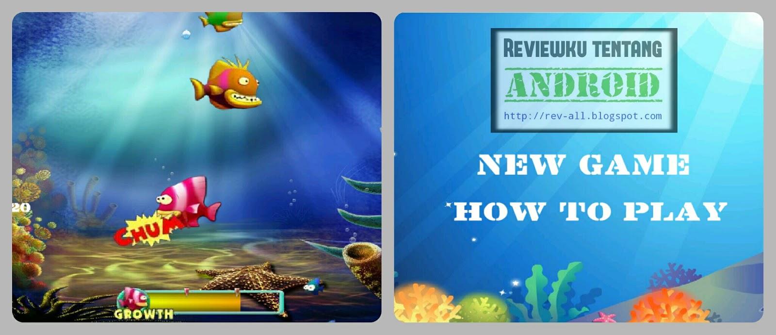 Screenshot permainan Feeding Frenzy android berukuran kecil (rev-all.blogspot.com)