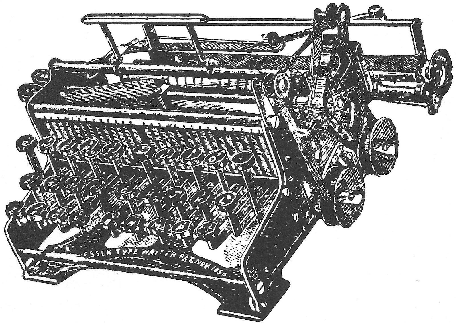 invention of typewriter