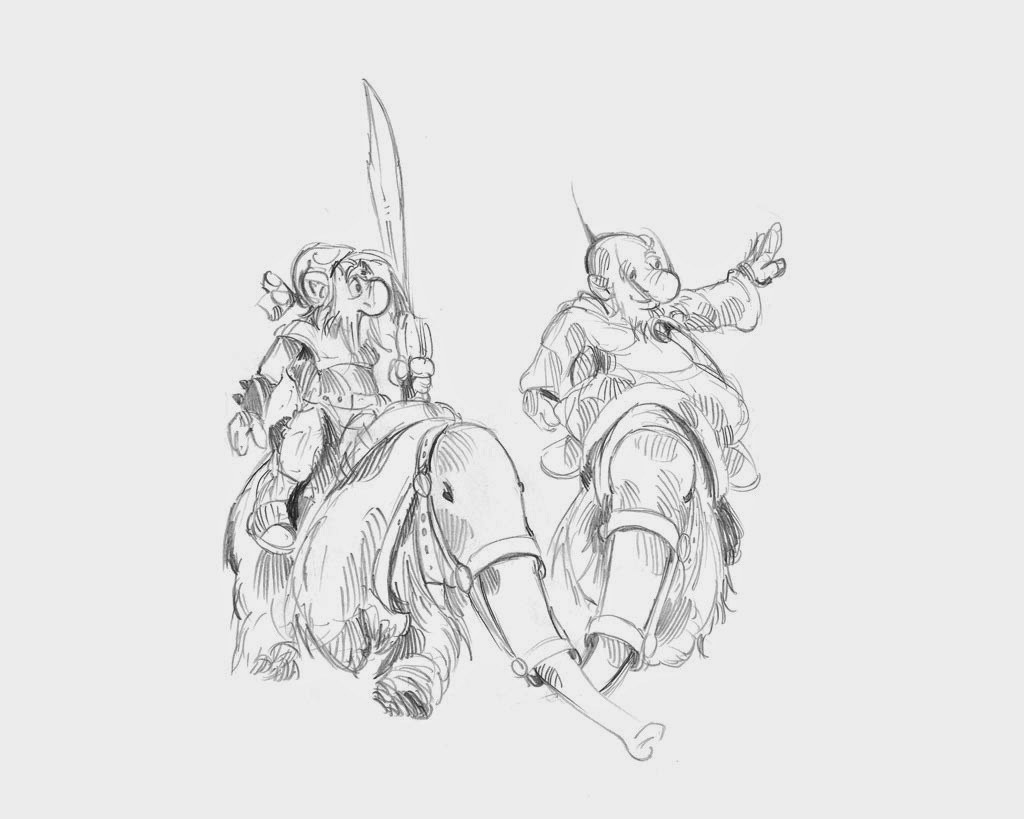 krasnoludy hobbit larwa pilipiuk smoki