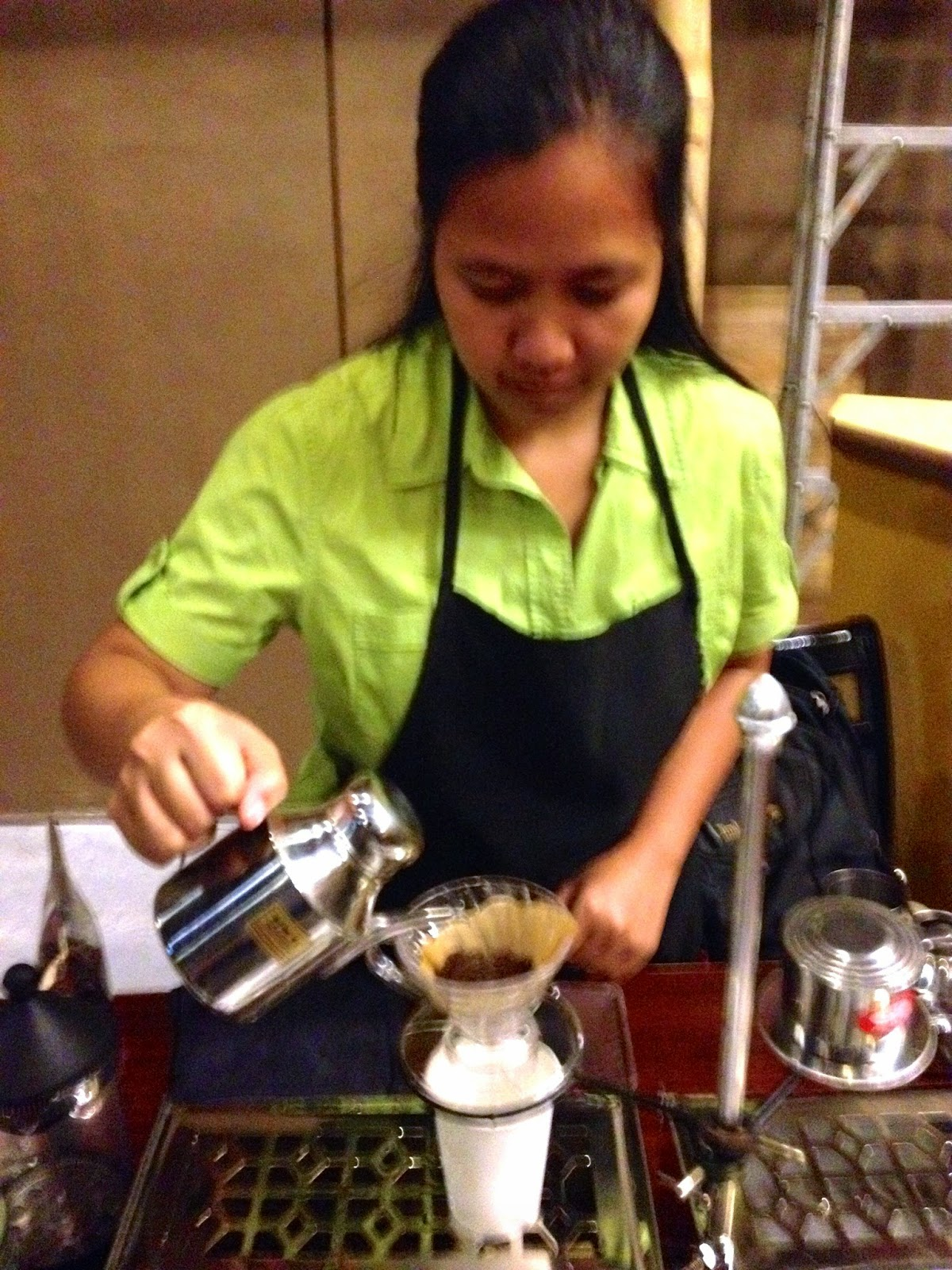 Boots Coffee Bar, Mango Square Mall, Cebu City, Kalinga Coffee, Civet Coffee, V60 Brew