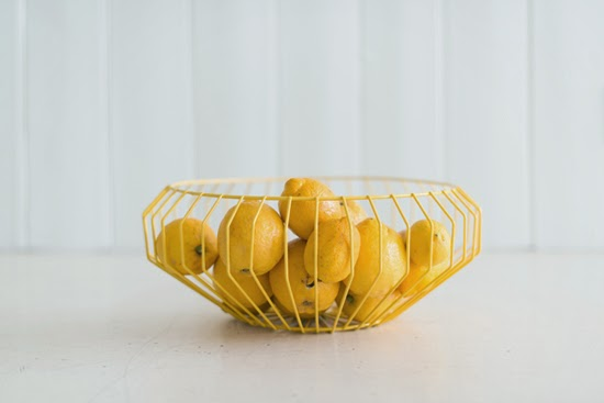 Safari Fusion blog | Hello yellow | Safari Fusion's Cape Wire Bowl (yellow)
