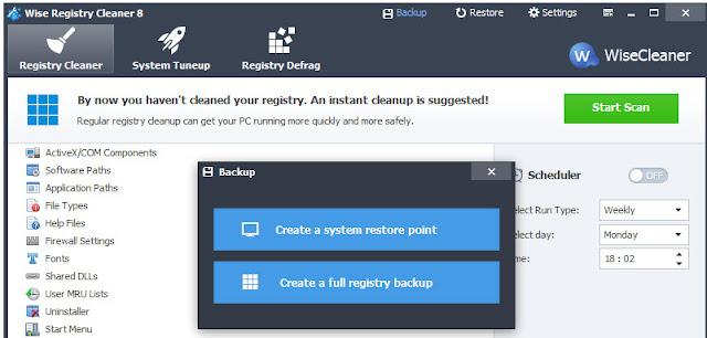 تحميل وشرح برنامج Wise Registry Cleaner 2016 لتنظيف وتحسين اداء الريجستر