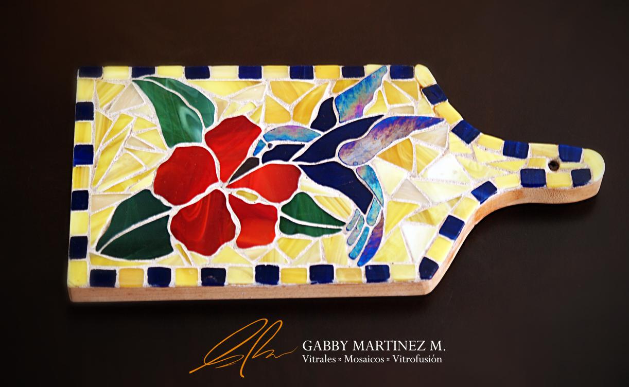 TABLA COLIBRI : Gabby Martinez M. Vitrales, Mosaicos ...