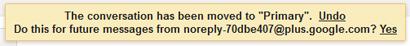Gmail msg move alert