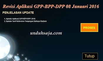 update gpp 8 januari 2016