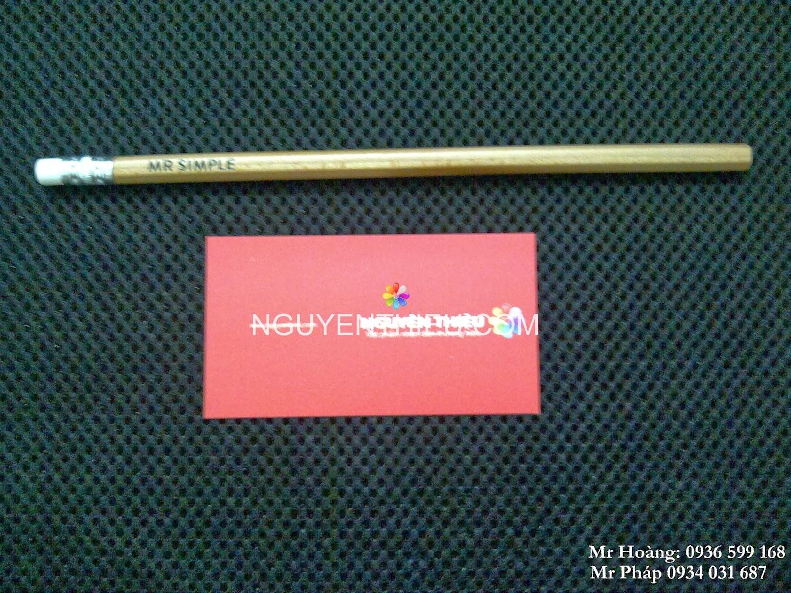 bút chì quảng cáo in logo