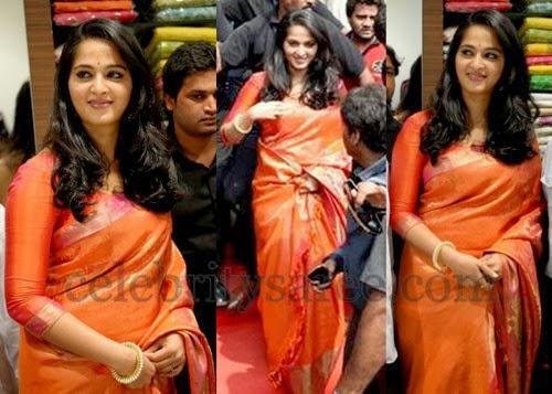 Anushka Sico Uppada Saree