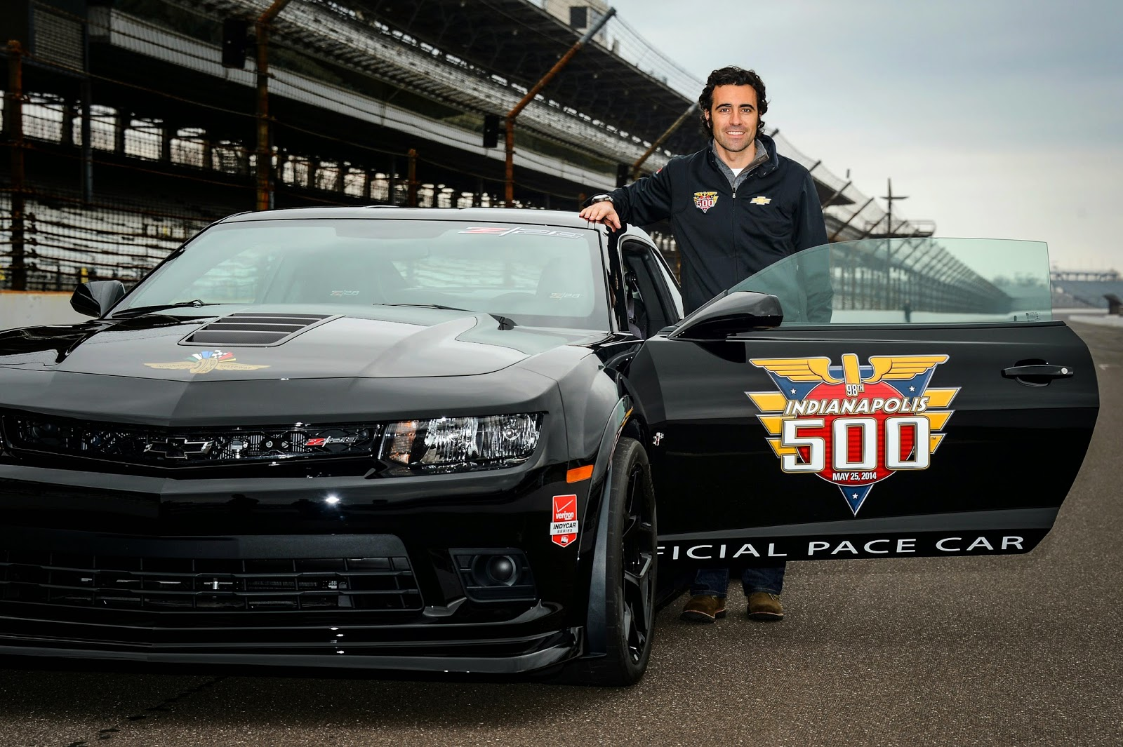 Chevrolet Camaro Z/28 to Pace Indy 500