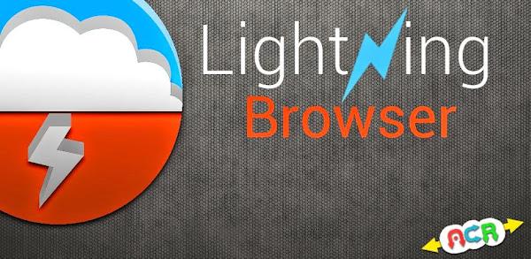 Trình Duyệt Lightning Browser tối ưu cho android cấu hình thấp