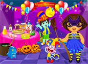 Dora Halloween Party