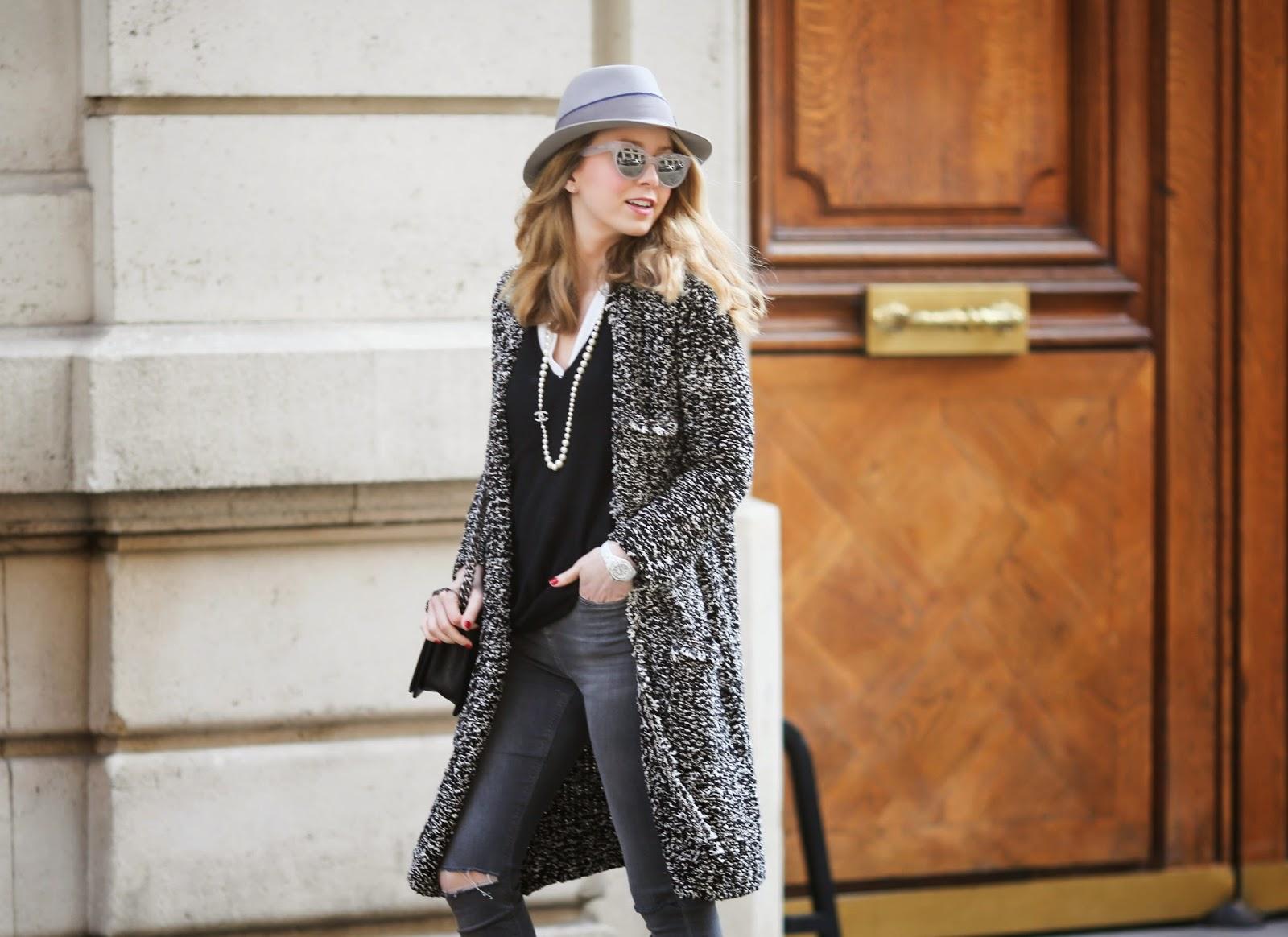 chanel, coco chanel, streetstyle, fashion blogger, zara, maison michel